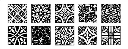 Classical Chinese tile pattern designs