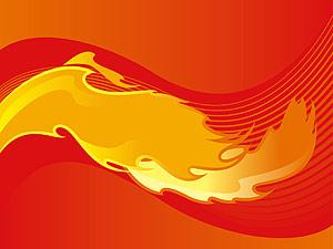 Fire lines   vector