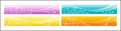 Vector fantasy background material - fashion pattern-3