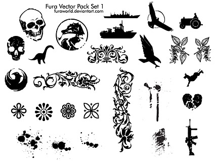 fura vector pack set 1