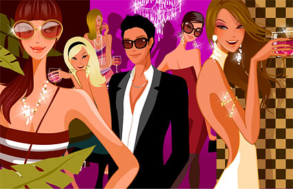 Party vector material