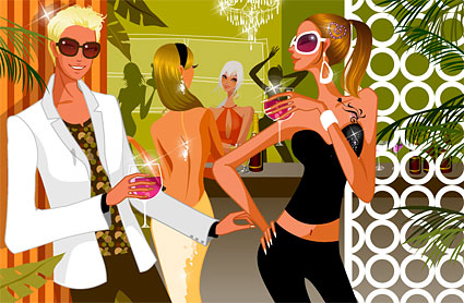 Party vector material-2