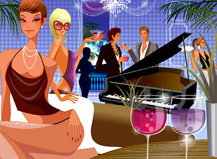 Party vector material-3
