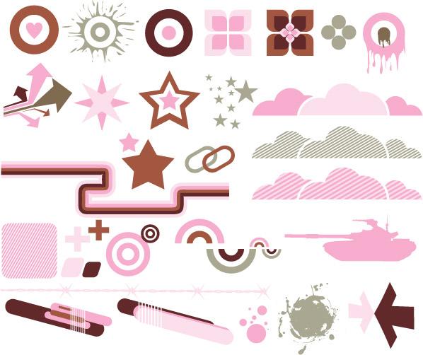 Vector trend of design elements-29