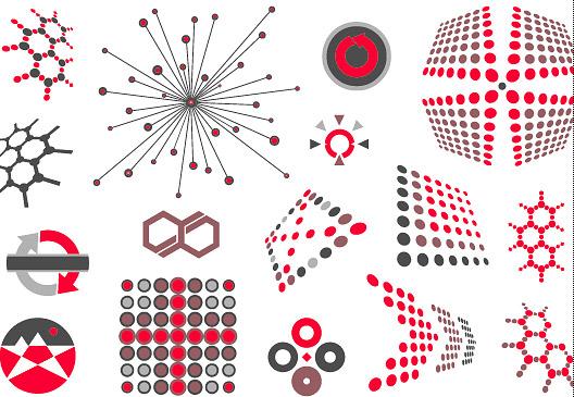 Vector trend of design elements-41