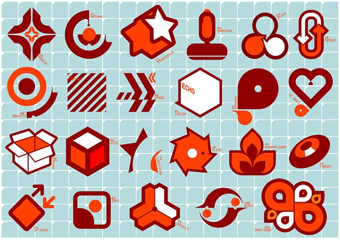Vector trend of design elements-20