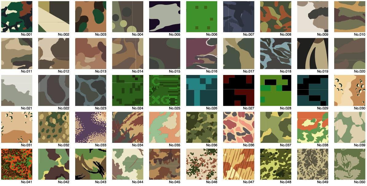 Vector camouflage Diwen Series-1