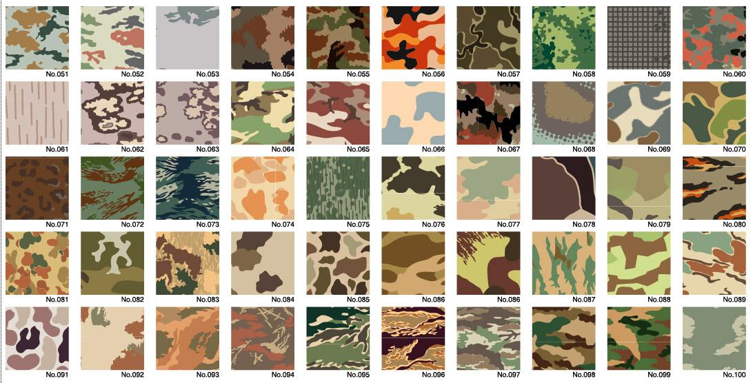 Vector camouflage Diwen Series-2