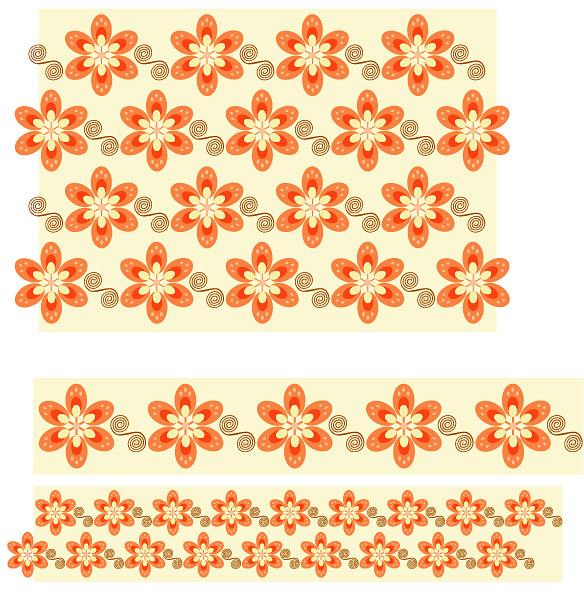 Fashion design patterns Vector--6