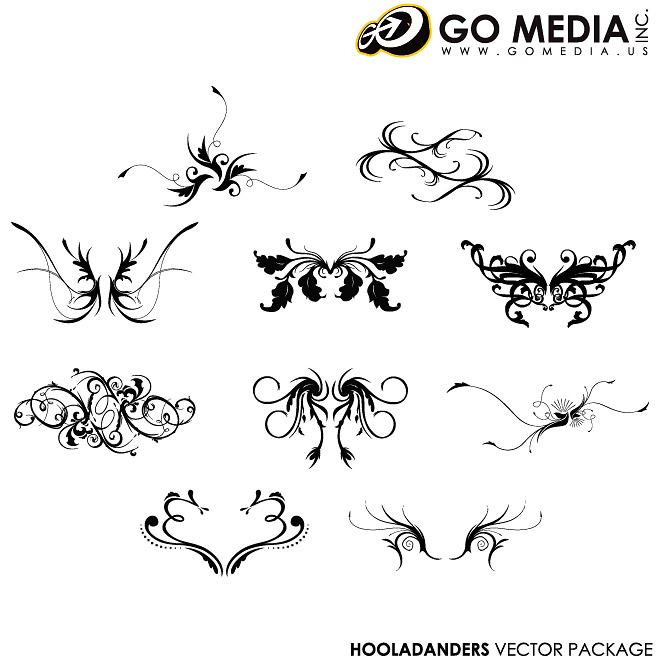 Go Media produced vector material - Continental pattern