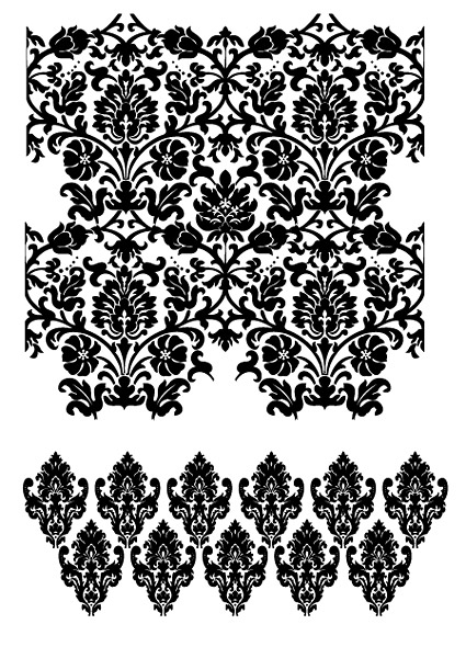 Fashion design patterns Vector-16