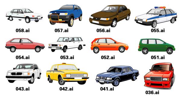 Vector beautiful cars-1