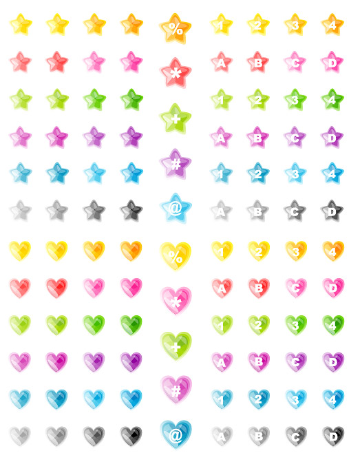 Heart-shaped icon