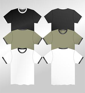 T-T-shirt material vector