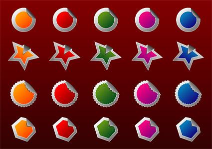 Angular web2.0 style graphics