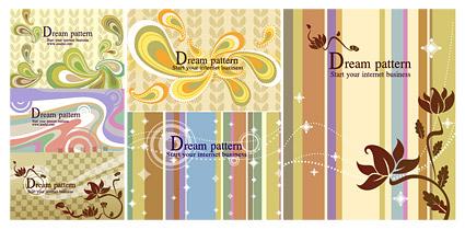stylish patterns and background