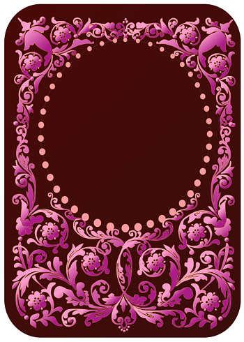 Continental purple pattern