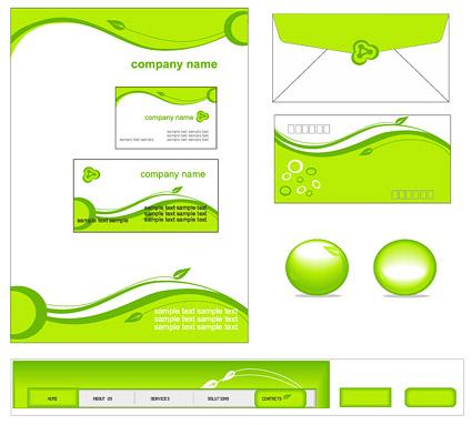 Green enterprises simple template