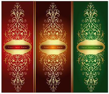 Gold gorgeous patterns