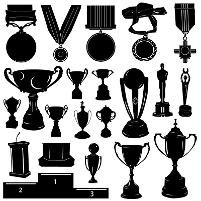 Medals and trophies in Pictures