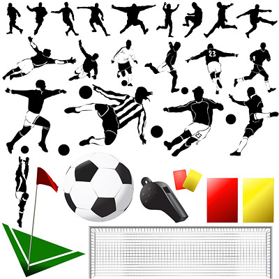 Elements of the theme of football