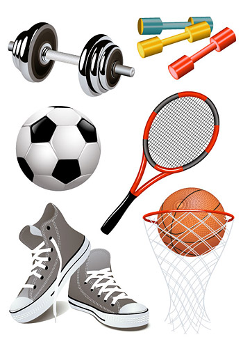 All kinds of sports goods