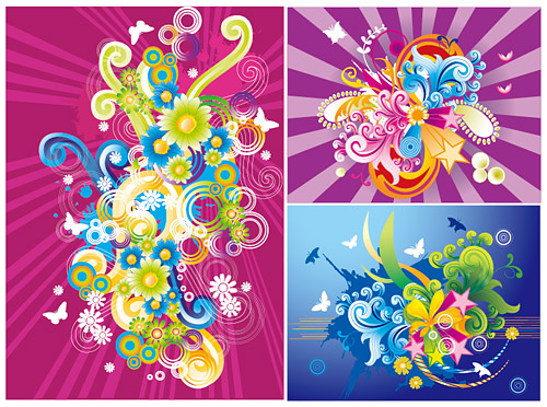 the trend of color illustrations