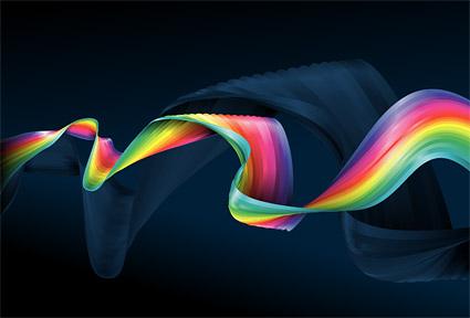 Colourful cloth