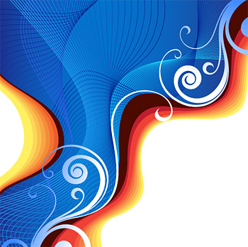 Symphony adobe cs3 style vector background material