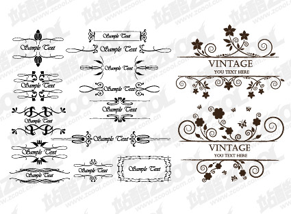 Continental David lace vector material