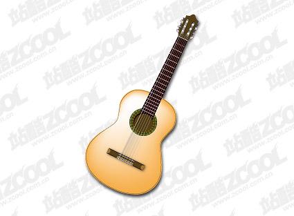 Guitar vector material