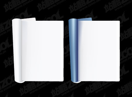 Notepad vector material