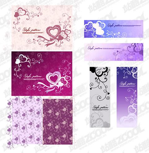 Love theme pattern