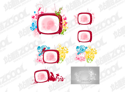 TV and the pattern vector material