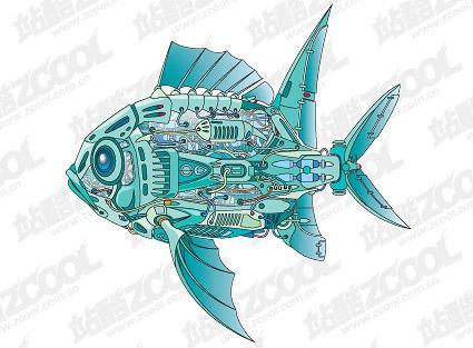 Vector machines fish material