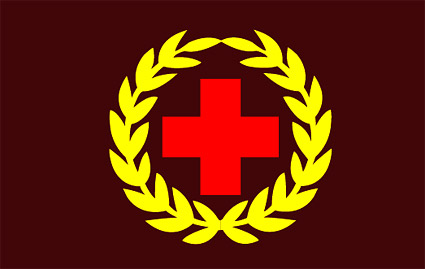 Red Cross emblem vector material