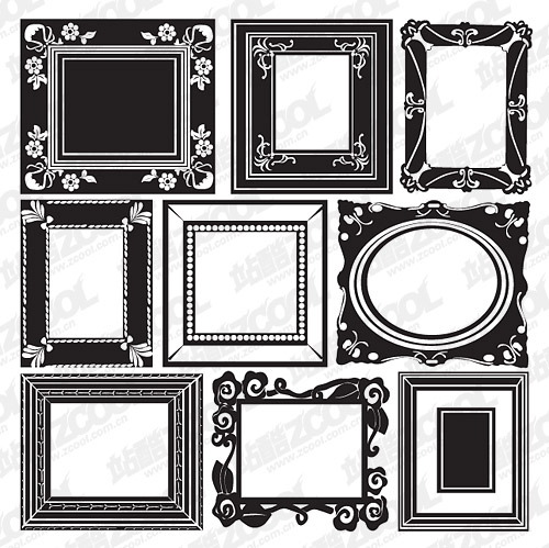 Accommodates frame lace vector material