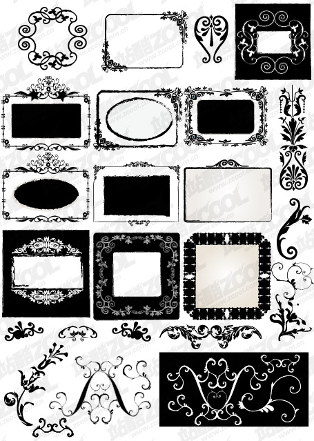 Accommodates frame lace vector material-3