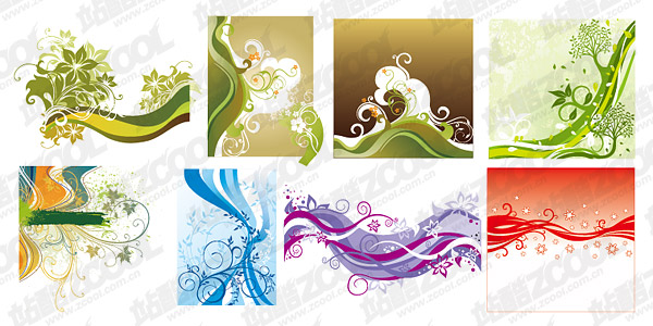 Fluctuations in line with the pattern element vector material