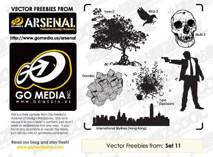 gomedia set11 free trial vector material