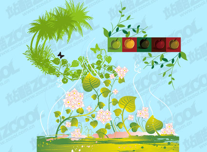 Vector material greens