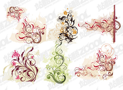 For the smooth pattern vector material