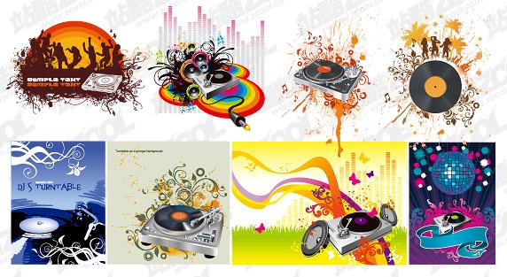 8, DJ Vector material