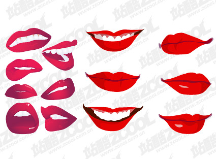 Vector mouth material-3