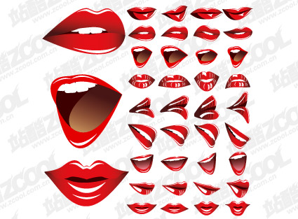 Vector mouth material-2