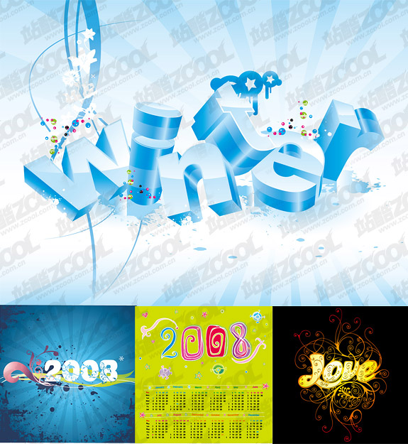 Vector material for theme
