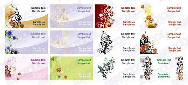 Theme pattern card templates--2