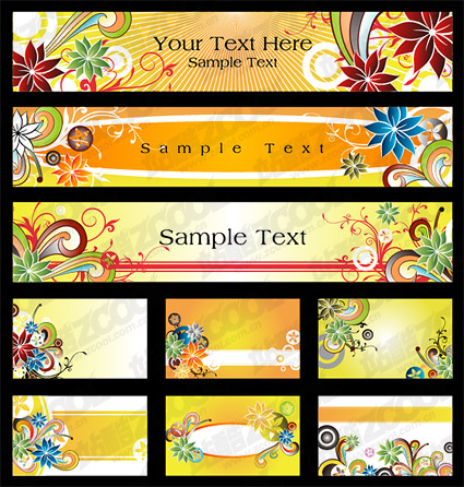 exquisite pattern element vector material