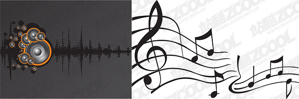 Speaker sound wave vector material