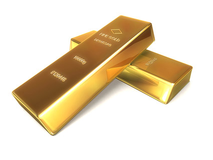 Gold bullion picture quality material